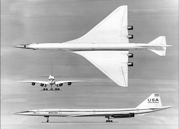 boeing super sonic transport