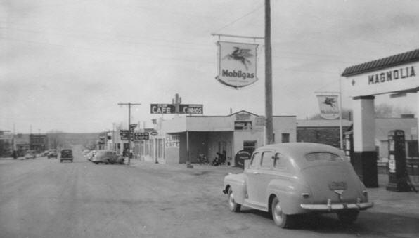 Santa Rosa New Mexico engang i 40erne
