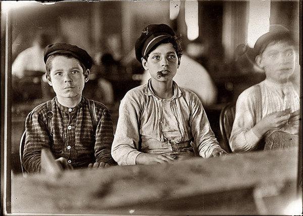 Sort/hvide billeder fra gamle dage | steampunk.dk