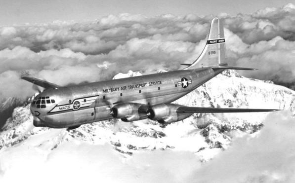 Boeing C-97A Stratofreighter med Military Air Transport Service bemaling