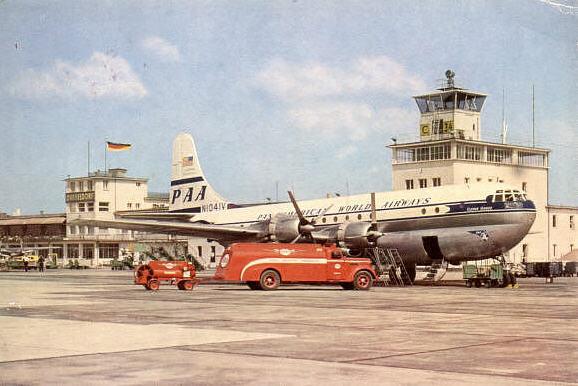 Pan American World Airways (Pan Am) i Düsseldorf sidst i 50erne