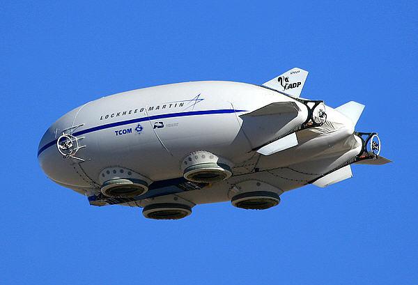 Lockheeds flyvende prototype P-791