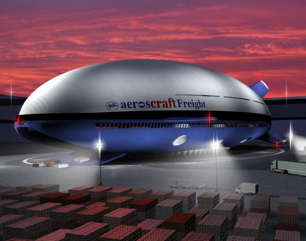 Aeroscraft design for en superblimp