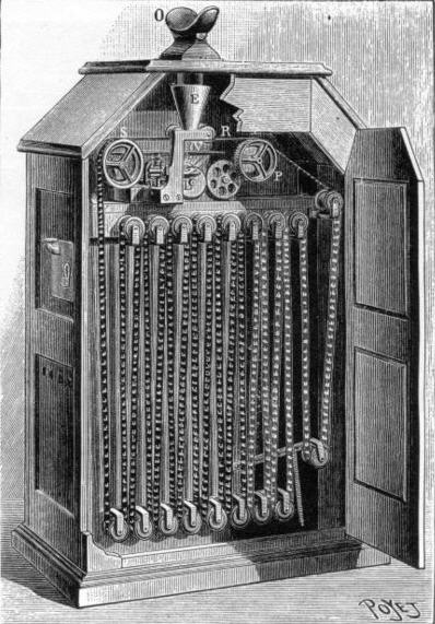Edisons Kinetoscope - man kigger ned foroven