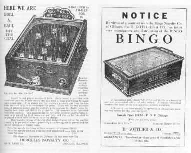 Spilreklame fra 1900tallet
