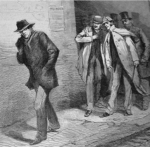 The Illustrated London News opfordrer til overvågenhed i 1888