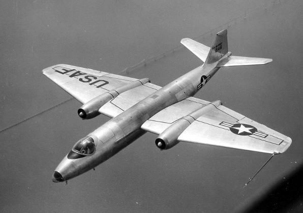 Vinderen: Martin B-57 Canberra