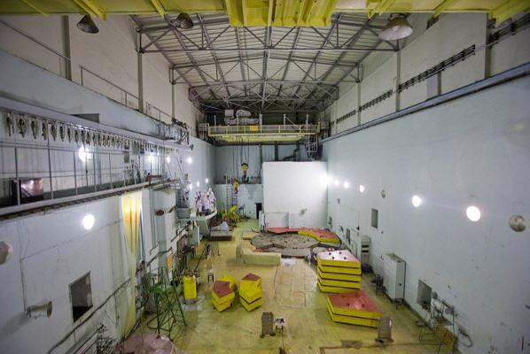 Det er her det sker – adgangen til værkets reaktor