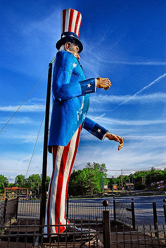 Verdens største Uncle Sam - 12m