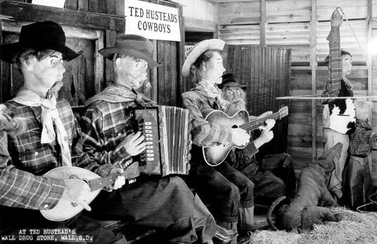 Wall Drug Store afdeling for mekanisk musik