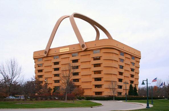Verdens største kurv og hotel