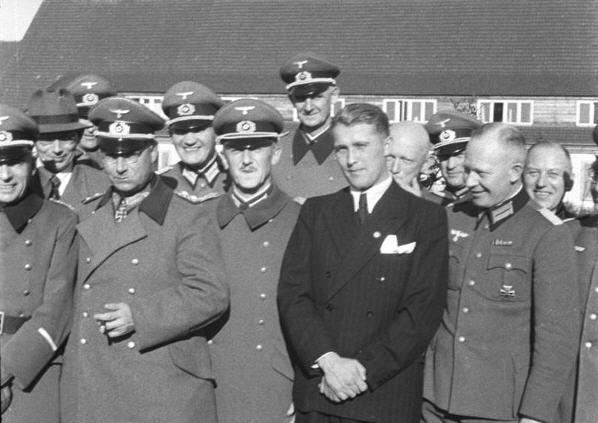 Friherr von Braun som han sikkert helst ikke ville huskes