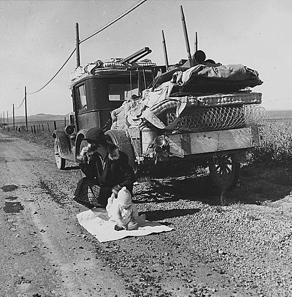 Flugten fra depressionen og den altødelæggende Dust Bowl – Route 66 ætses ind i den amerikanske psyke