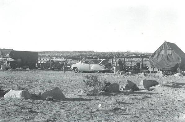 Indtil 50erne var camping den mest almindelige form for overnatning langs Route 66