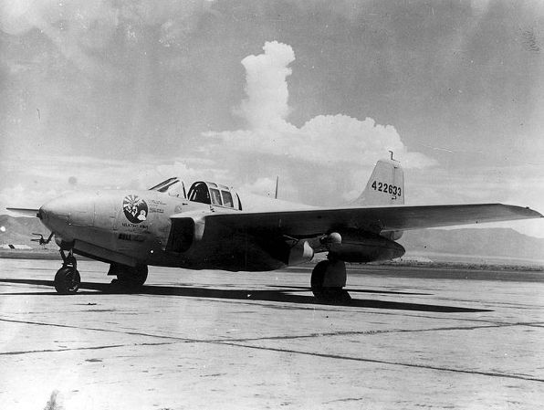 Bell P-59B Airacomet - Reluctant Robot