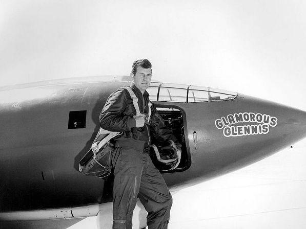 Chuck Yeager og Glamorous Glennis 14 oktober 1947