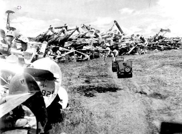 P-38 Lightning jagere på Filippinerne