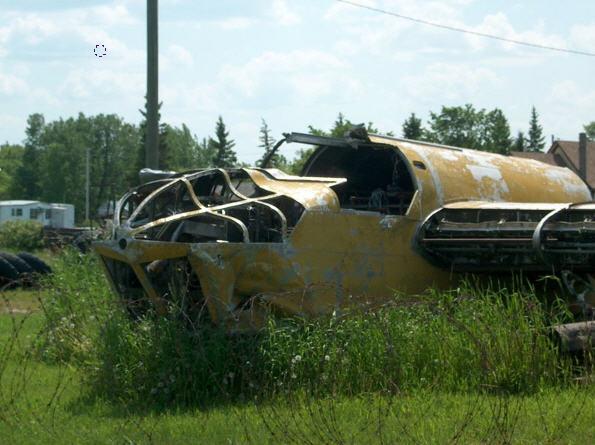 En sjælden Bristol Fairchild Bolingbroke fundet i Canada