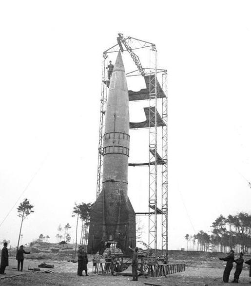 Peenemünde 18/3 1944 - Test af V2 raket