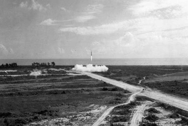 Lift-off for WAC Corporal 26/11 1945